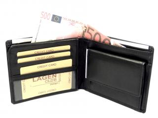 Lagen PW 521 černá peněženka