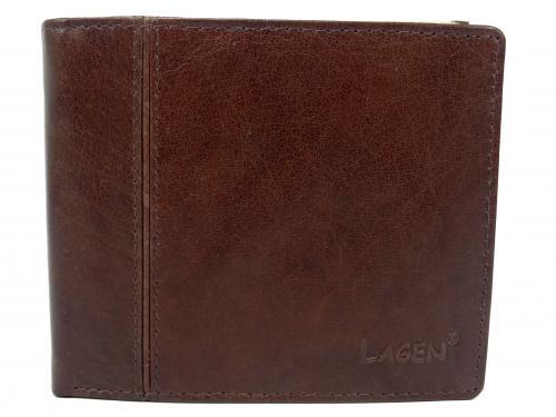 Lagen PW 521 hnědá  peněženka