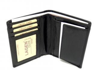 Lagen 9176 black pánská peněženka