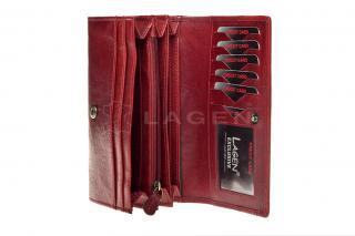 Lagen W 2025/T red peněženka