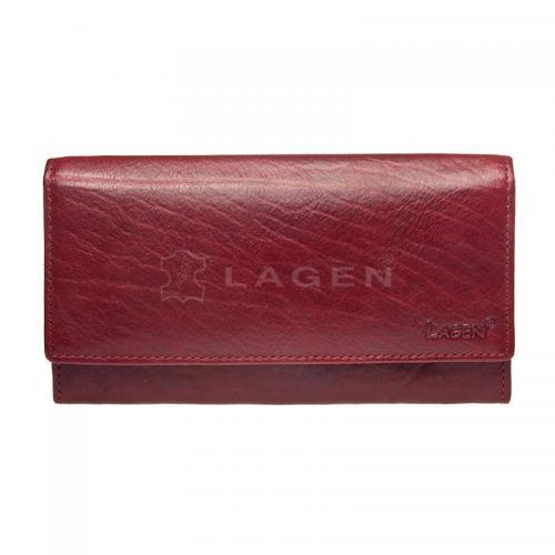 Lagen V 40/ red peněženka