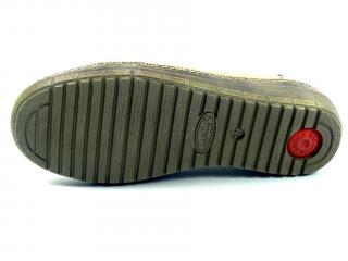 Helios 311 mokasíny béžové s gumou