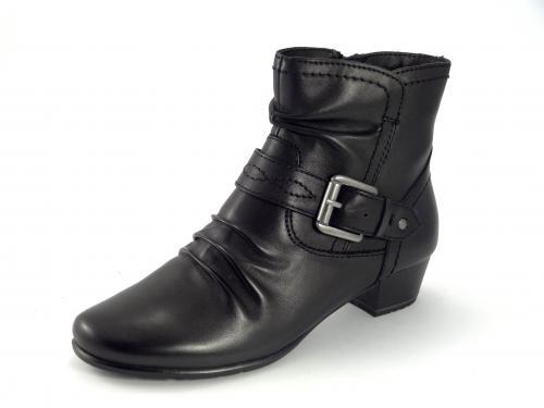Jana kotníková obuv, černá