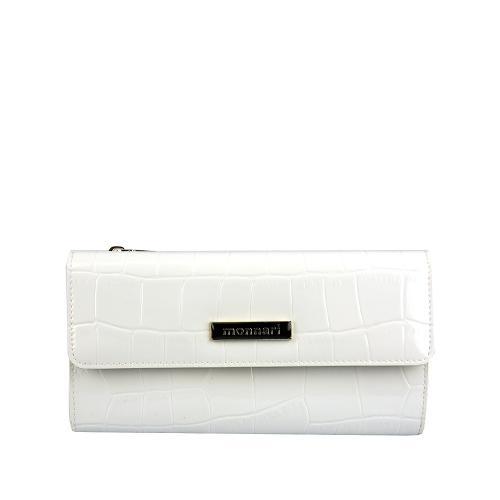 Monnari 0124 luxusní peněženka bílá
