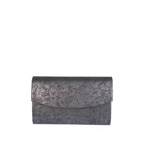 PO244 psaníčko černé stříbrná patina