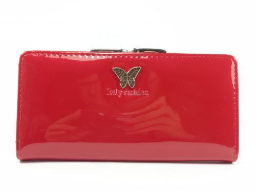 IF 9066 červená peněženka lakovaná