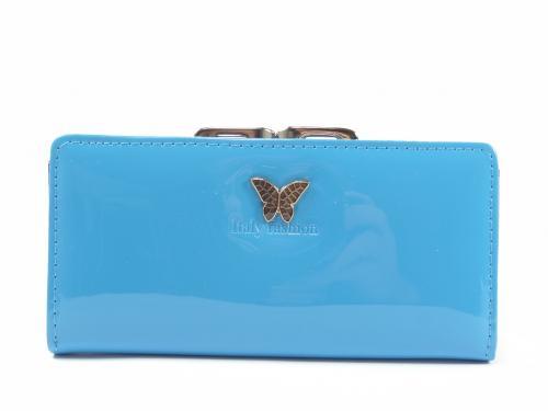 GDR 9066 peněženka modrá lak