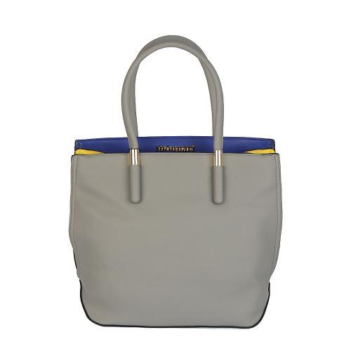 Monnari 4450 šedá kabelka s modrou