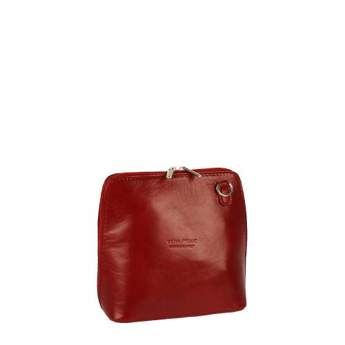 Vera Pelle 284 kabelka červená