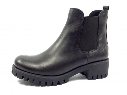 Karino 1426 černá kotníková obuv