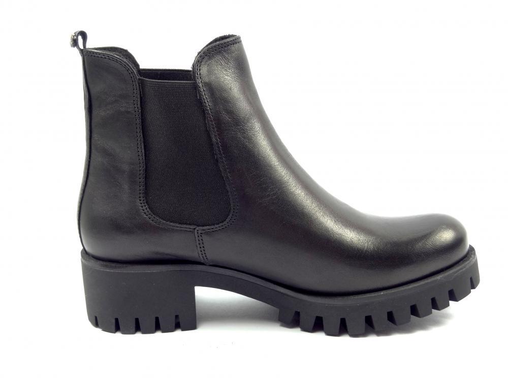 b97da6e7b1a Karino 1426 černá kotníková obuv