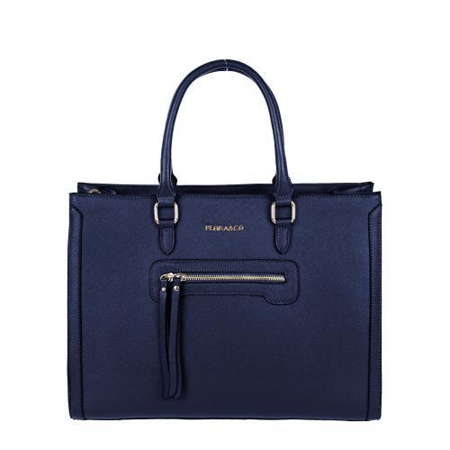 Flora&Co 5610 kabelka modrá
