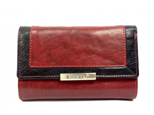Lagen LN1498/Mred/black peněženka