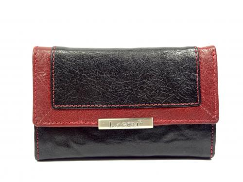 Lagen LN1498/M black/red peněž
