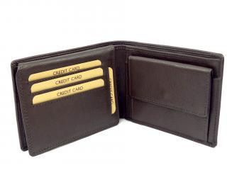 Lagen W184 peněženka hnědá