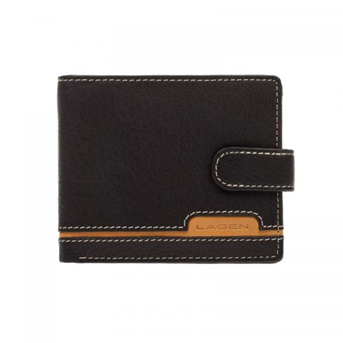 Lagen 2004 černá s hnědou peněženka