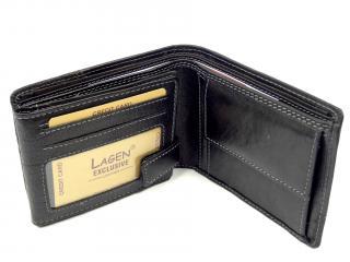 Lagen peněženka černá 2108/T