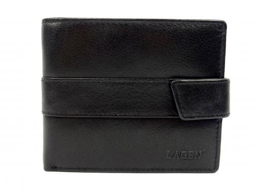 Lagen V03 black  peněženka černá