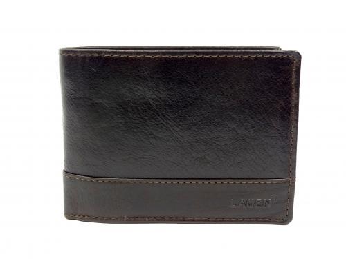 Lagen peněženka LM64665/T tmavě hnědá
