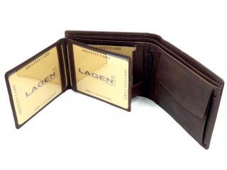 Lagen LG1131 hnědá peněženka