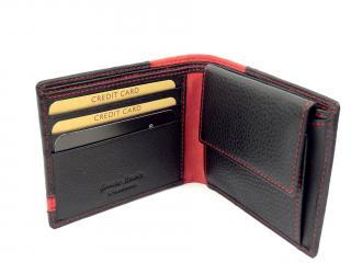 Lagen LG1812 black/red peněženka