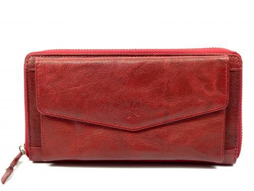 Lagen LN55594/M2 red peněženka