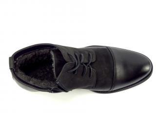 Zadora 807 černá kotníková obuv