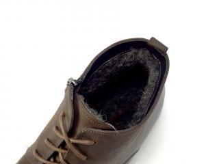 Zadora 807 hnědá kotníková obuv
