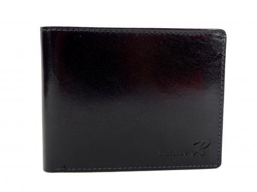 Ronaldo VT černá kožená peněženka