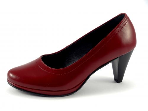 Lodičky Aurelia červené