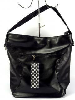 Carine C89 hladká černá kabelka