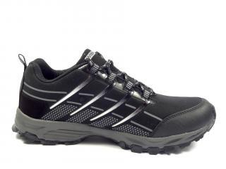 039 M černo šedá softshellová obuv