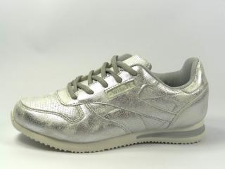 D stříbrná sportovní obuv 045