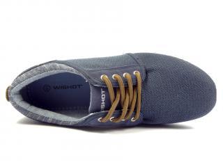 050 M NAVY modrá sportovní obuv