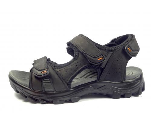 John Wishot černý sandál 345