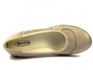 Helios 330 polobotka beige na klínku