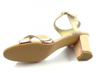 Aurelia společenská obuv růžová