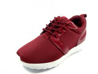Aurelia červená textilní obuv 5533