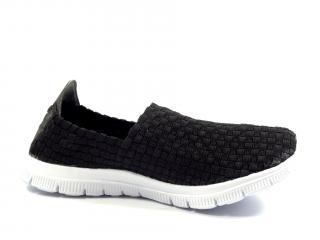 Aurelia textilní obuv černá 5535