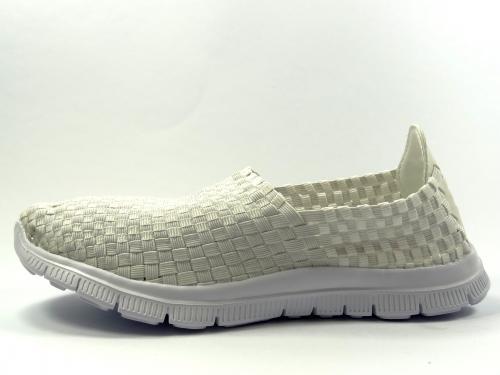 Aurelia textilní obuv bílá 5535