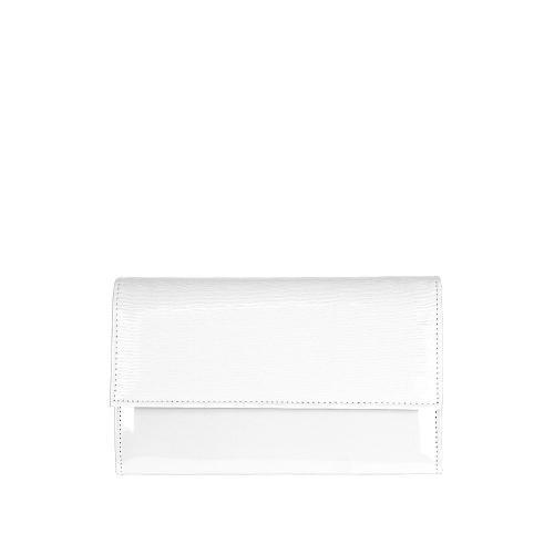 Psaníčko W51 bílá vzorovaná