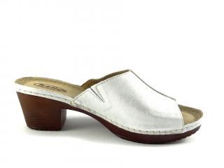 Helios letní obuv stříbrná 222