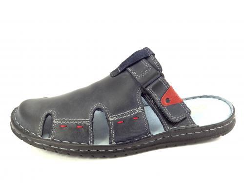 Mateos letní obuv granát 508
