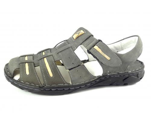 Mateos sandál šedý 230