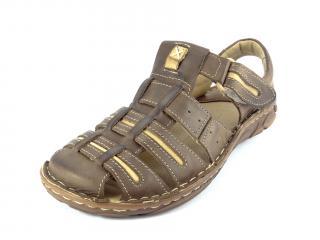 Mateos sandál hnědý 230