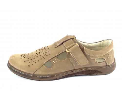 Mateos letní obuv hnědá 674