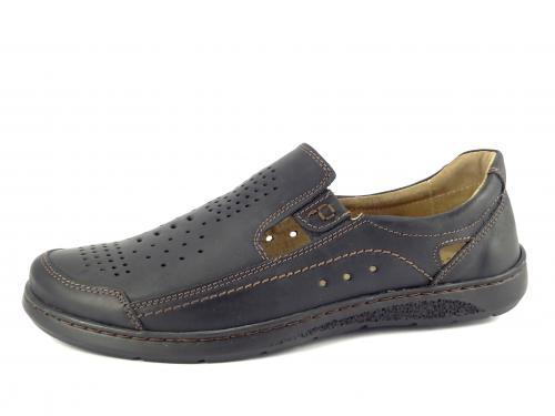Mateos letní obuv černá 672
