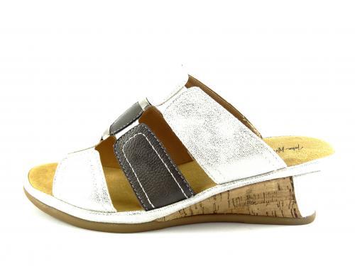 Wishot letní obuv na klínku 005
