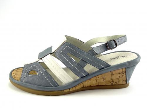 Wishot letní obuv na klínku 065