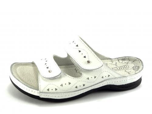 Aurelia bílé pantofle LR50405